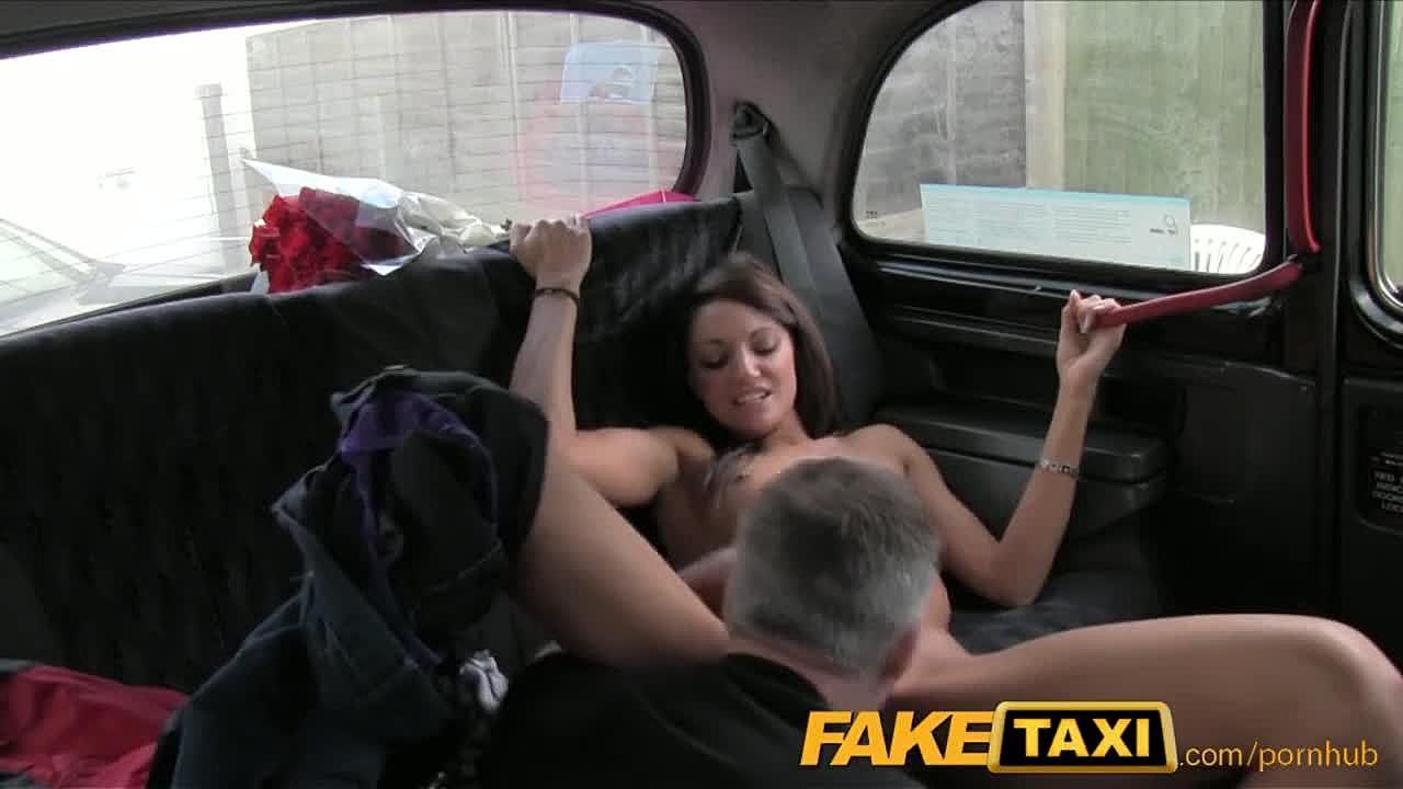 Fake Female Taxi Lesbian Strap